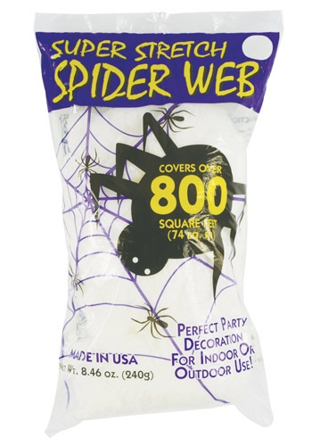 Spooky Spider Web Decoration