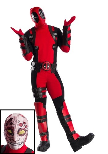 Plus Size Premium Deadpool Costume