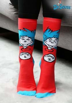 Thing 1 & Thing 2 Crew Socks Update
