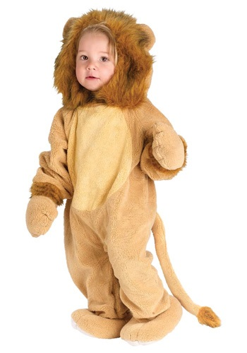 Cuddly Baby Lion Costume