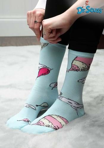 Oh! The Places You'll Go Crew Socks
