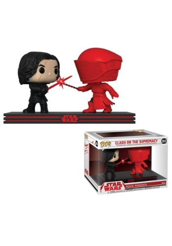Pop! Star Wars Movie Moment: The Last Jedi- Kylo & Praetoria