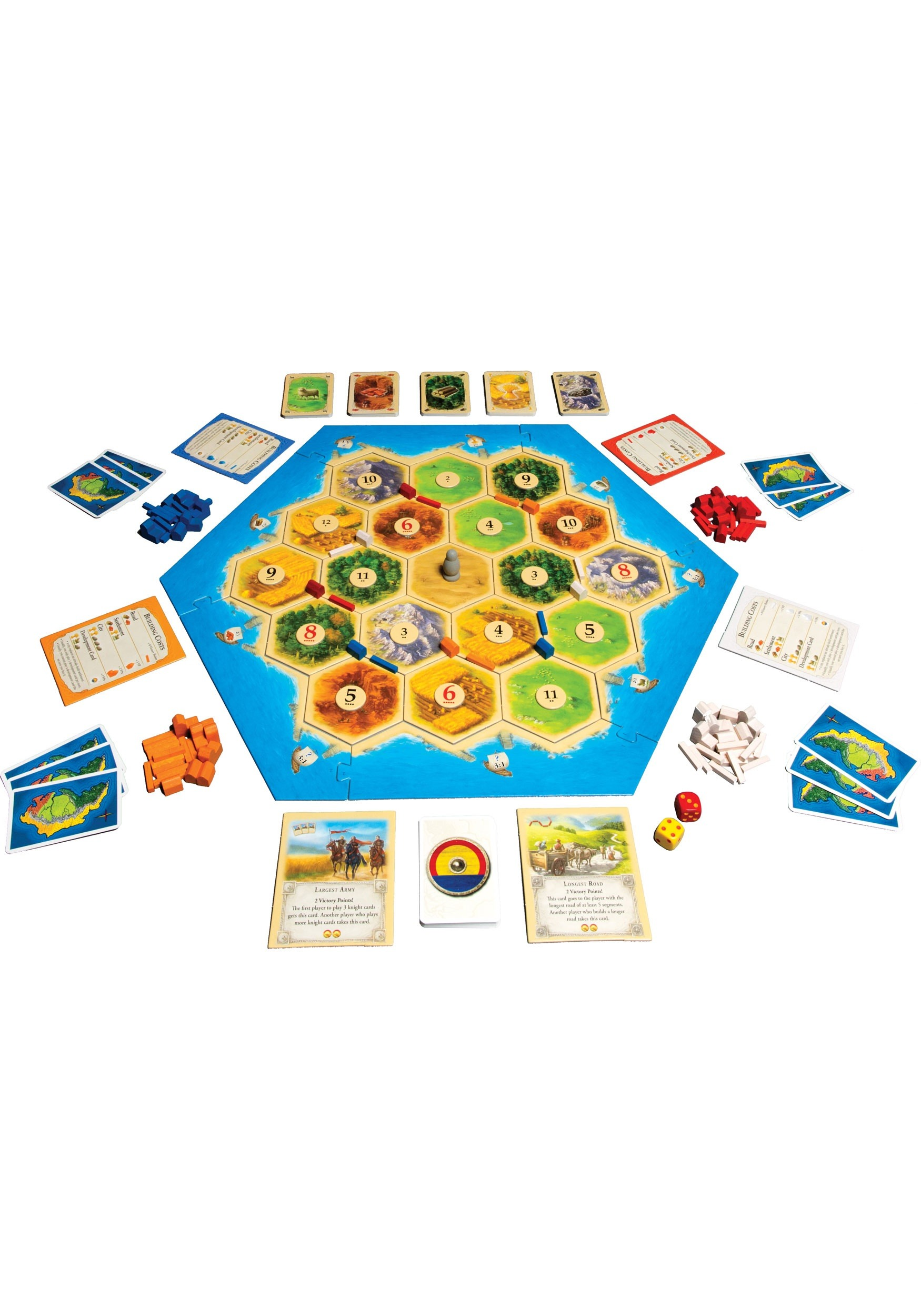 Catan- 5th Edition Board Game