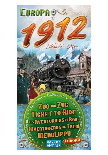 Ticket to Ride Board Game Expansion: Europa