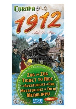 Europa 1912: Ticket to Ride Board Game Expansion