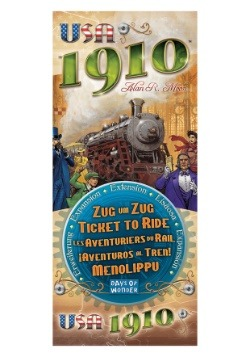 Ticket to Ride: USA 1910 Board Game Expansion