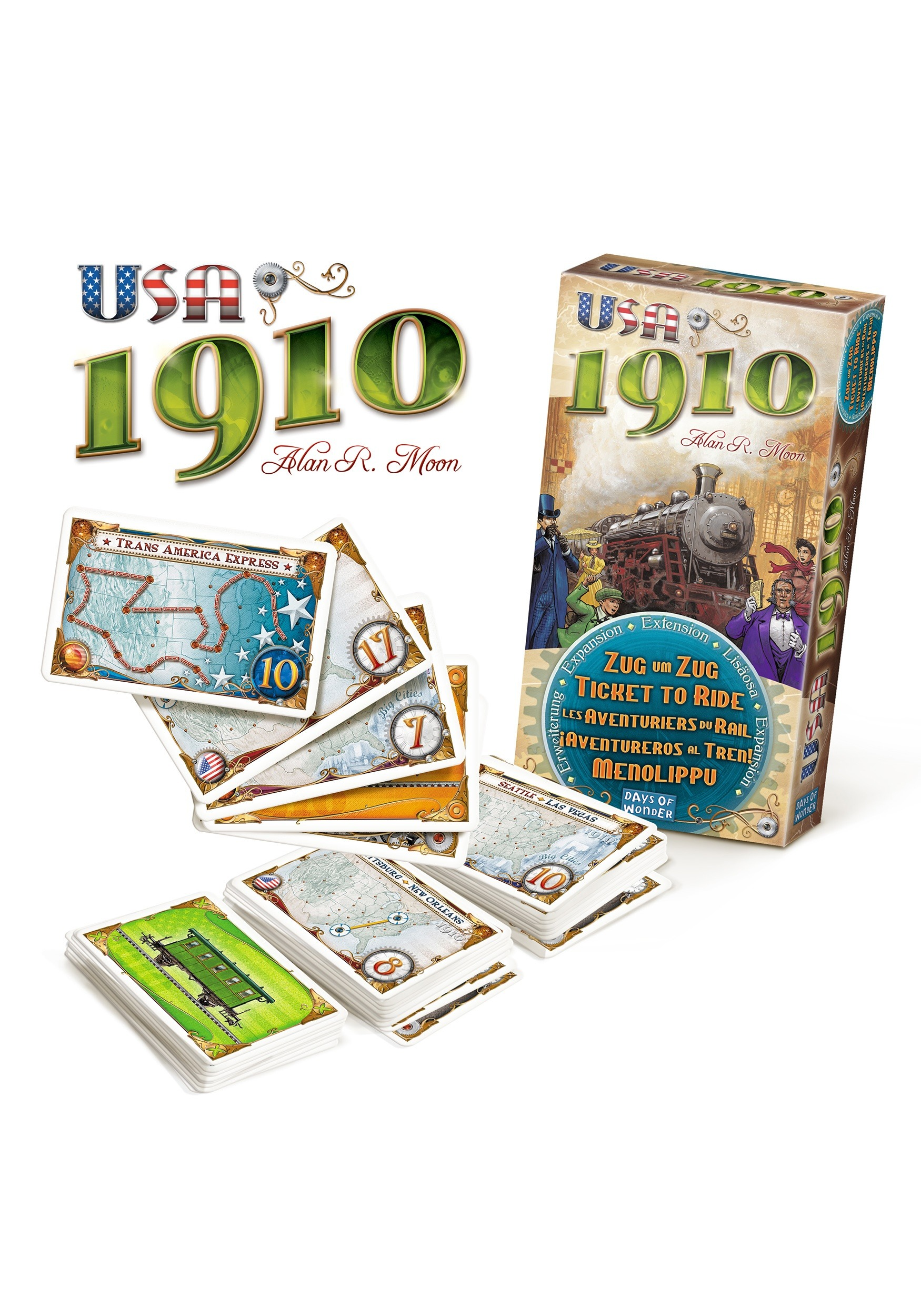 Ticket to Ride - USA 1910 on Steam