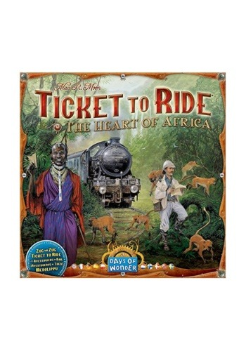Ticket to Ride The Heart of Africa Expansion