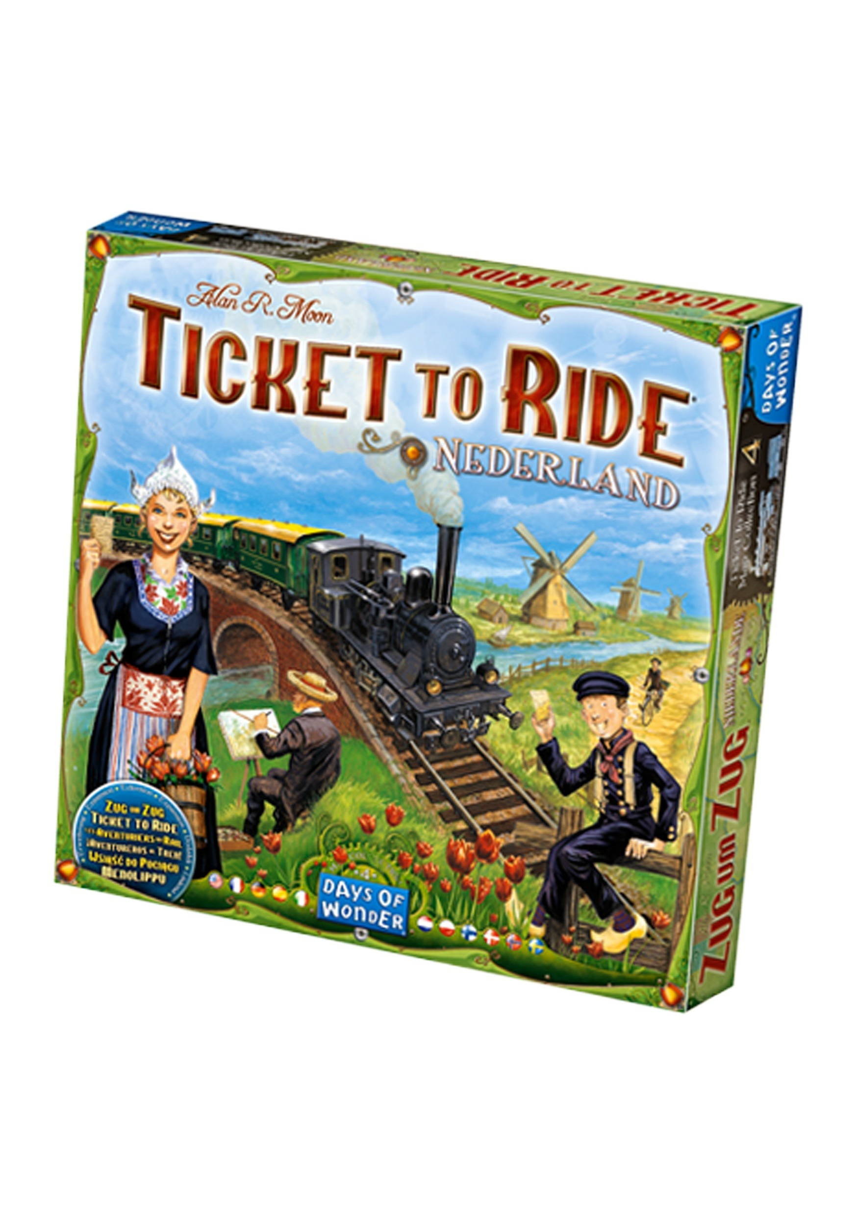 Ticket to Ride: Nederland Board Game Expansion