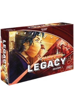 Pandemic: Legacy Season 1 Red Edition