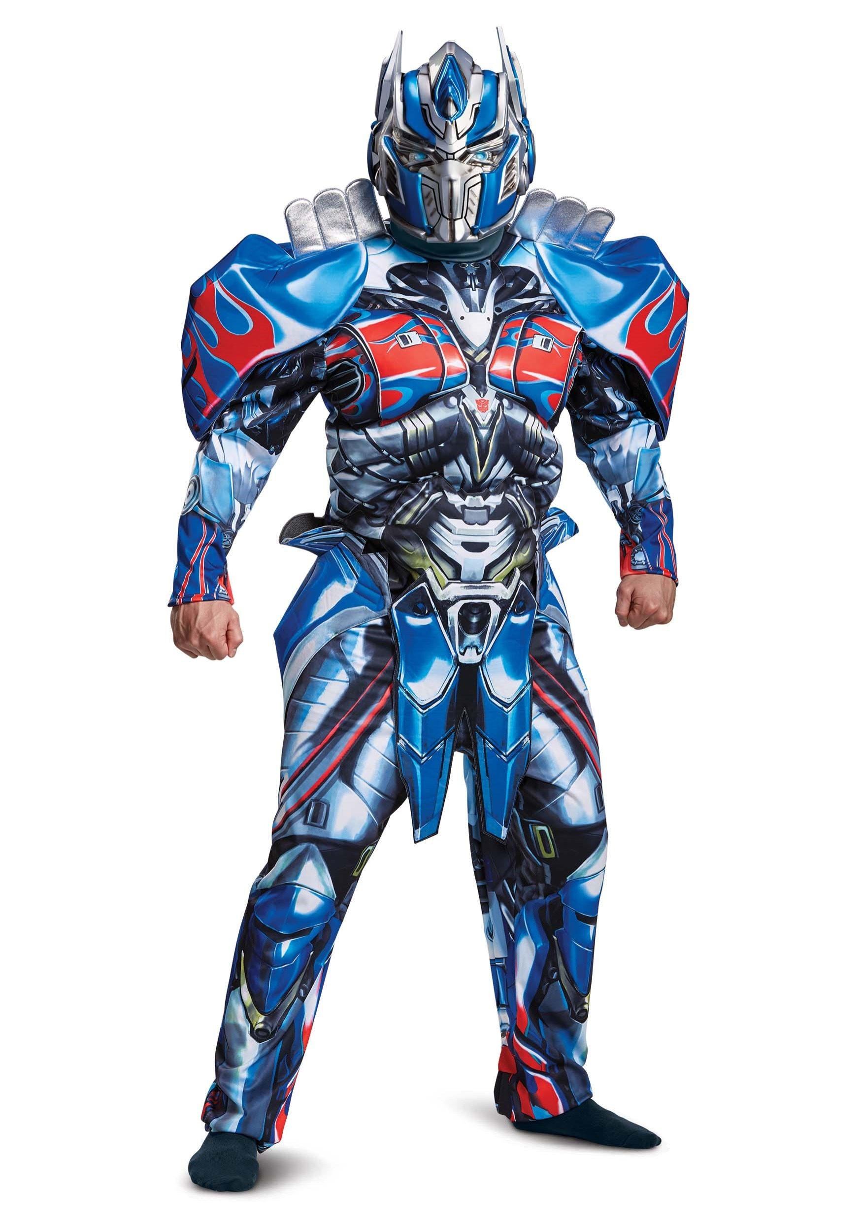 Transformers 5 Deluxe Optimus Prime Costume For Adults