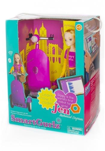 SmartGurlz Jen Doll with Purple Siggy-update1
