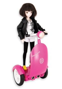 SmartGurlz Jun Doll with Pink Siggy