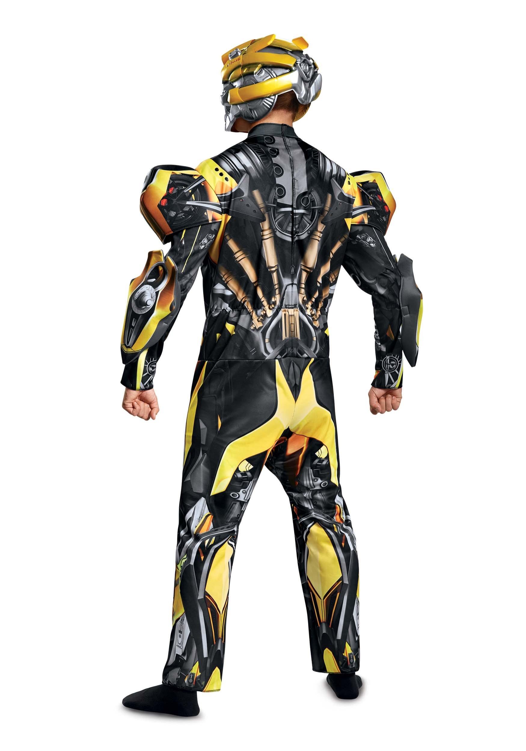 Transformers 5 Adult Deluxe Bumblebee Costume alt 31e20f6c3