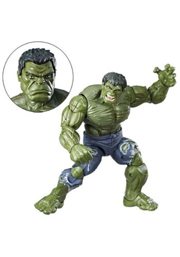 12-inch Scale Marvel Legends Series Hulk Action Figure EEDHSC1880-ST