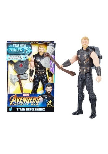 "Avengers: Infinity War Thor Titan Hero Power FX 12"" Figure1"