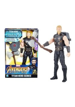 "Avengers: Infinity War Thor Titan Hero Power FX 12"" Figure1"