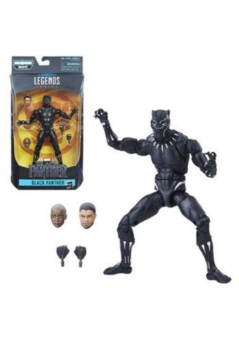 Black Panther Marvel Legends 6-Inch Black Panther