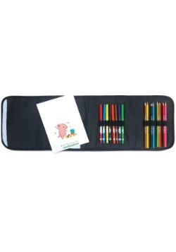 Panda Carry & Go Art Kit Inside