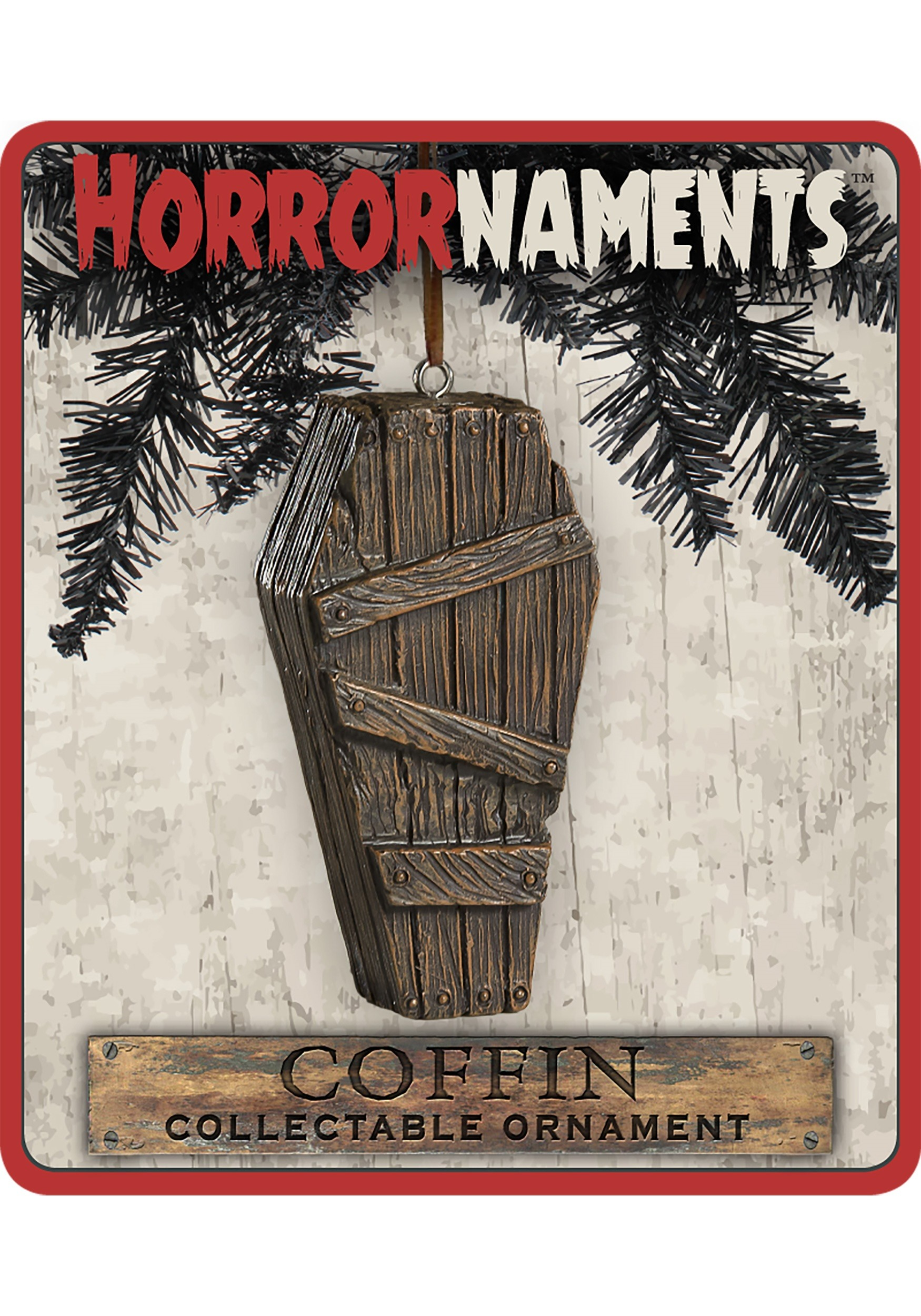 Horrornaments Coffin Molded Ornament
