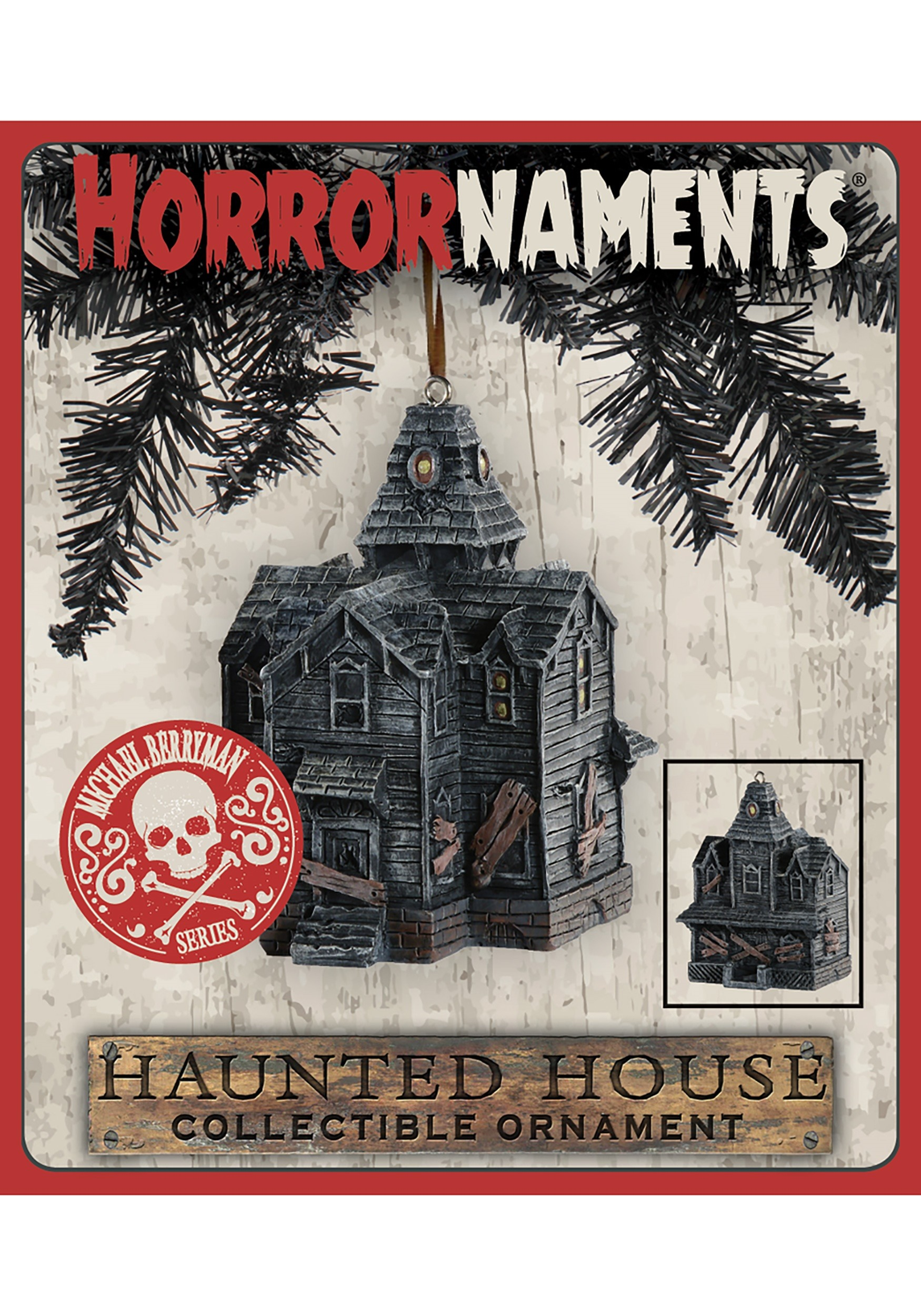 Haunted House Horrornaments Molded Ornament Michael Berryman