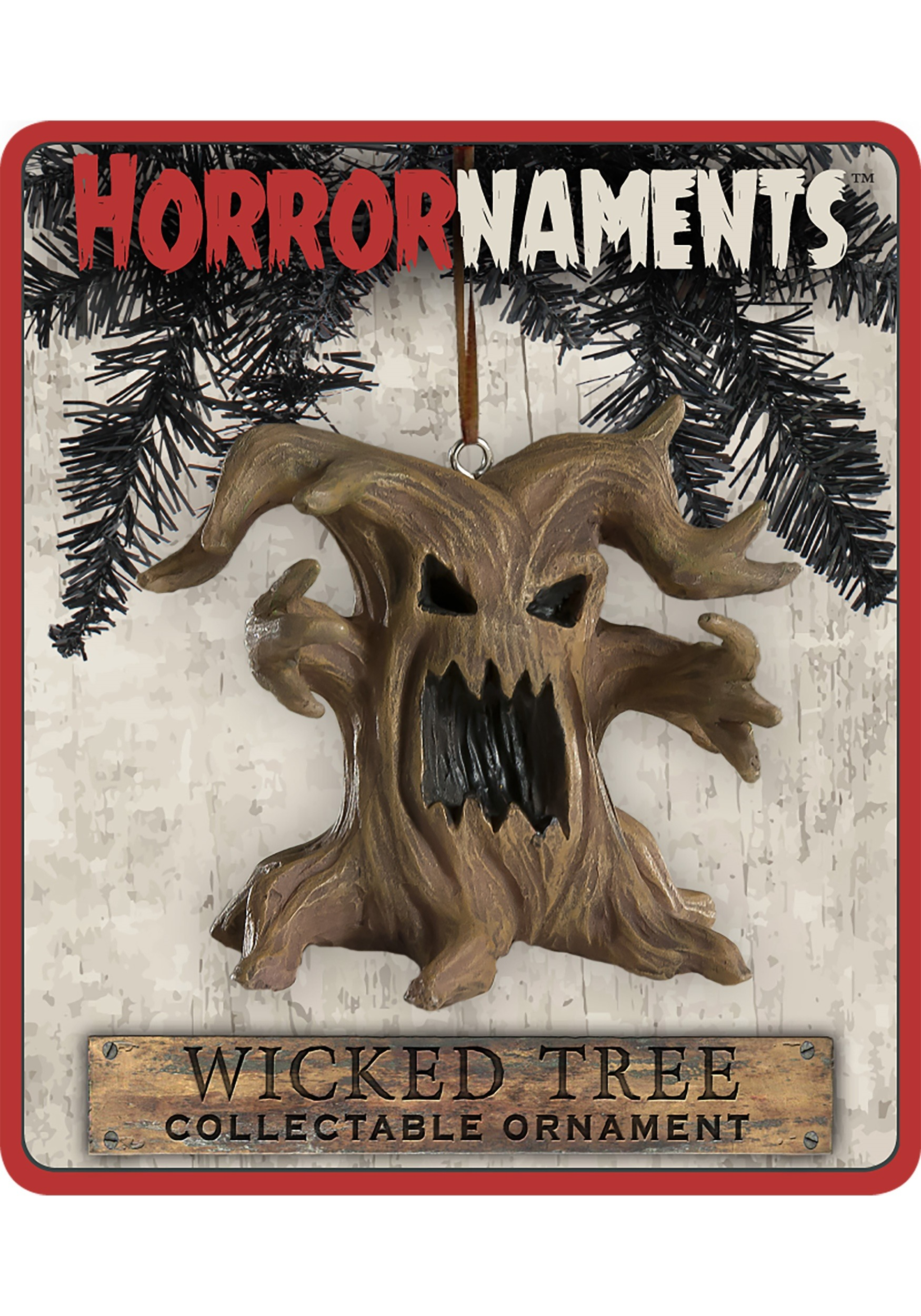 Wicked Tree Horrornaments Molded Ornament