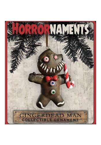 Horrornaments Gingerbread Man Molded Ornament