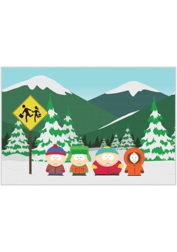 South Park Fleece Blanket