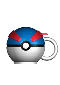 Pokemon Great Ball Molded Coffee Mug1