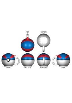 Pokemon Great Ball Molded Coffee Mug2