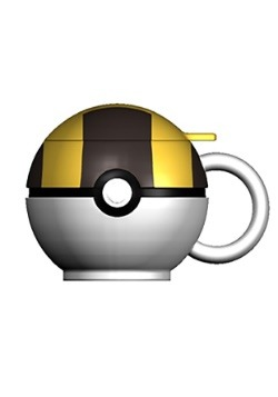 Pokemon Ultra Ball Molded Coffee Mug1