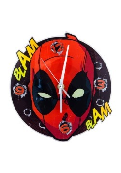Deadpool Face Wall Clock