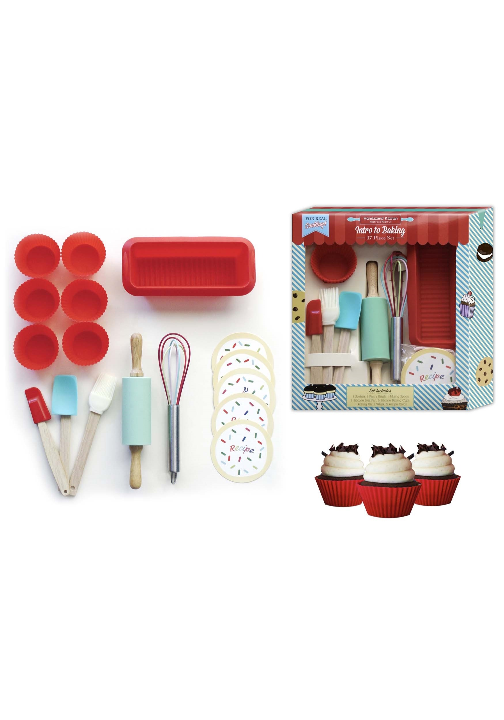 17 Piece Intro to Baking Set - 809e83be1da4cf8 , 17-Piece-Intro-to-Baking-Set-13428463 , 17 Piece Intro to Baking Set , Array , 13428463 , Playsets > Food & Drink > Kids > No Filter > unisex , HKIBKS-INTRO-ST