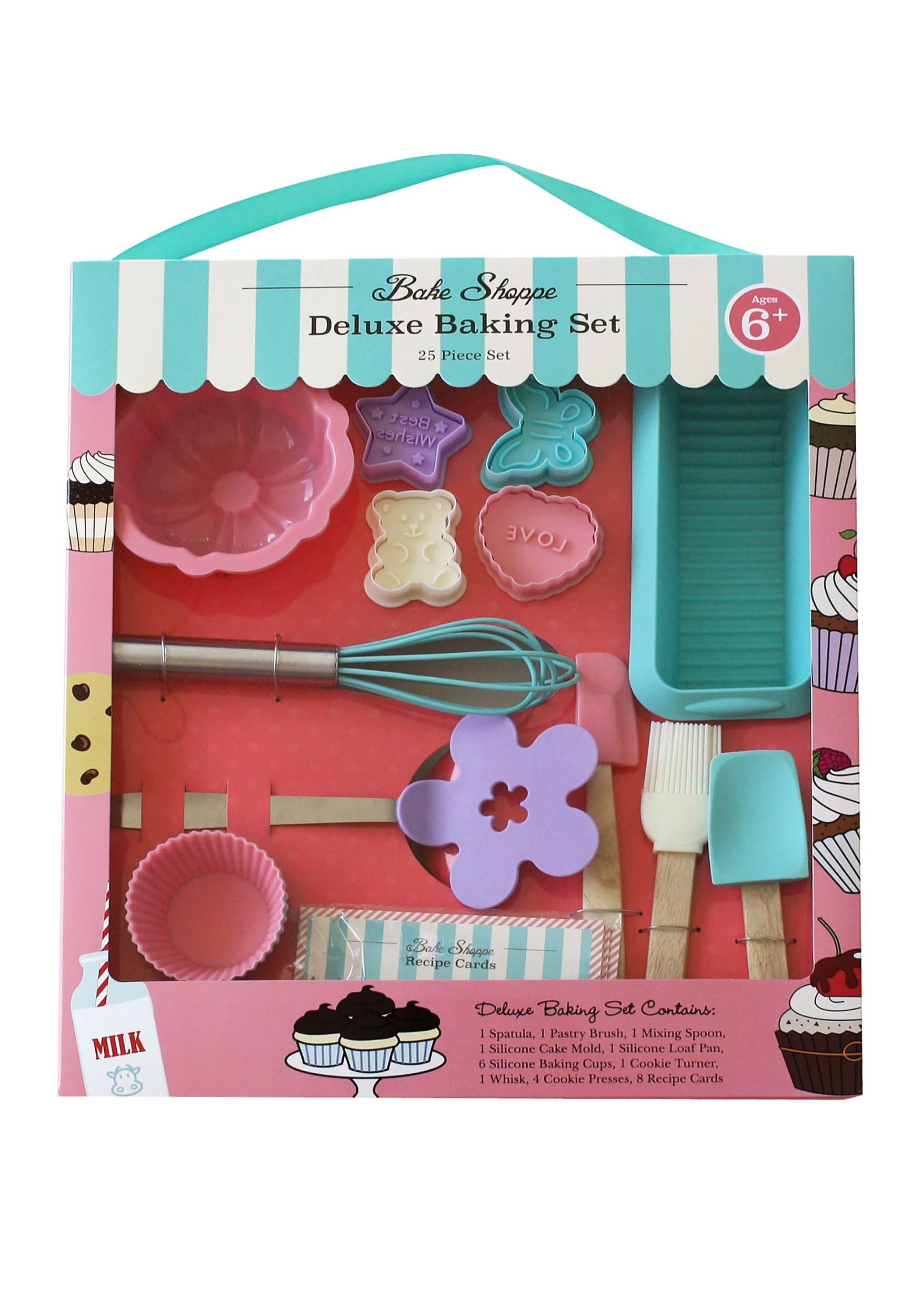 25 Piece Deluxe Baking Set For Kids