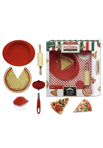 Handstand Kitchen 9 Piece Pizza Making Set For Kids