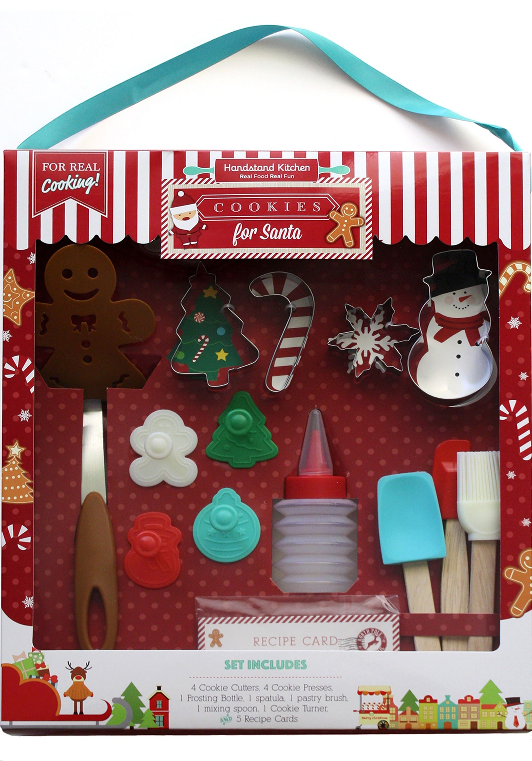 Handstand Kitchen 18 Piece Christmas Cookies for Santa