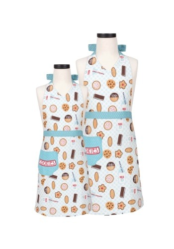 Handstand Kitchen Milk and Cookies Parent & Child Apron Set