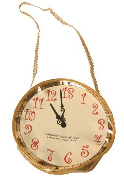 Wonderland Rabbit Clock Purse