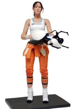 "Portal 2 Chell 7"" Action Figure"