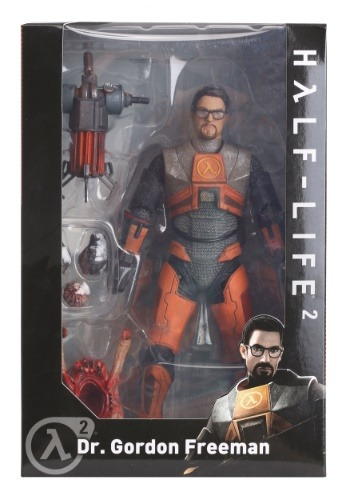 "Half Life Gordon Freeman 7"" Action Figure"