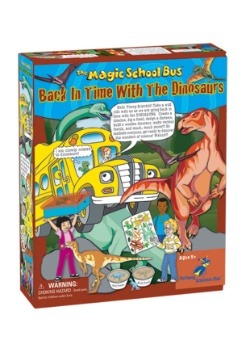The Magic School Bus- Back in Time with the Dinosaurs Kit