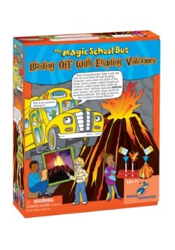 Magic School Bus- Blasting Off with Erupting Volcanoes Kit