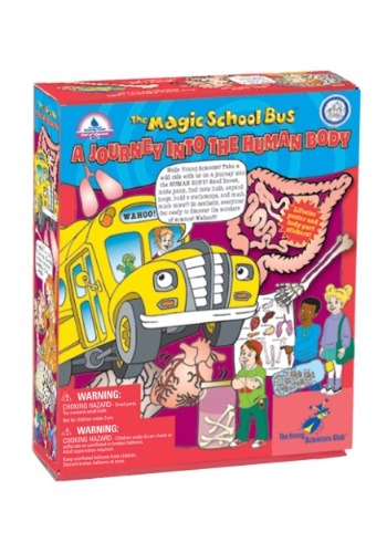 Magic School Bus- A Journey into the Human Body Kit
