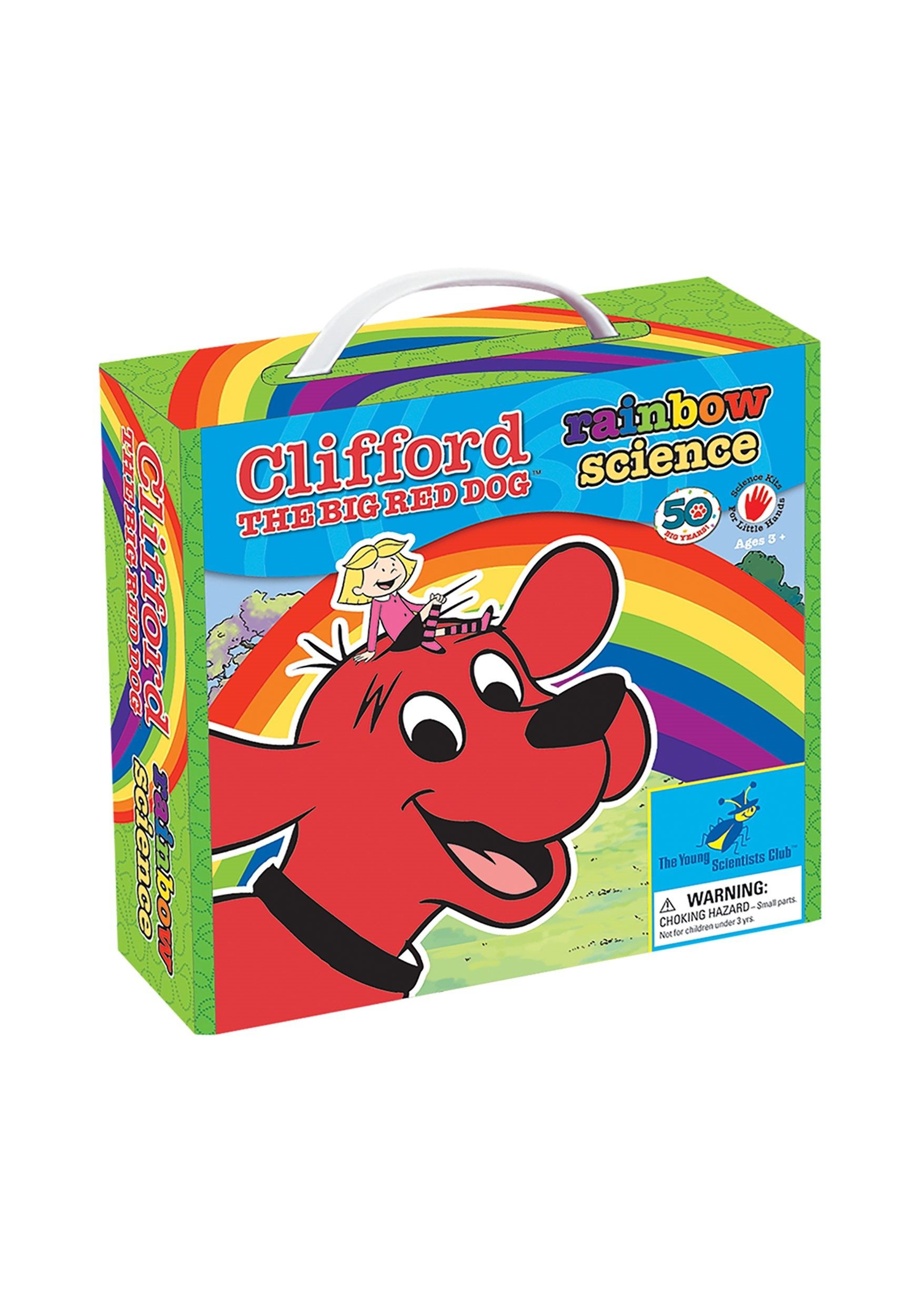 Swell Clifford The Big Red Dog Rainbow Science Kit Machost Co Dining Chair Design Ideas Machostcouk