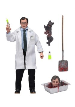 Re-Animator Herbert West 8 inch Clothed Figure