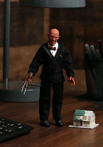 "Nightmare on Elm Street Tuxedo Freddy Krueger 8"" Figure Upda"