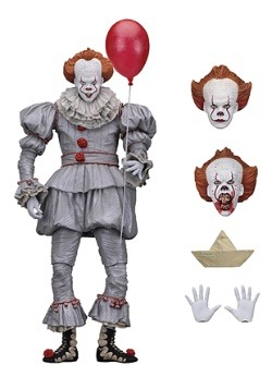 "IT Pennywise 2017 7"" Scale Action Figure"