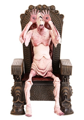 """Pan's Labyrinth Pale Man 7"""" Scale Action Figure with Throne1"""