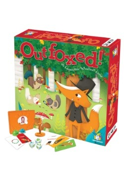 Gamewright OutFoxed! A Cooperative Whodunit Board Game