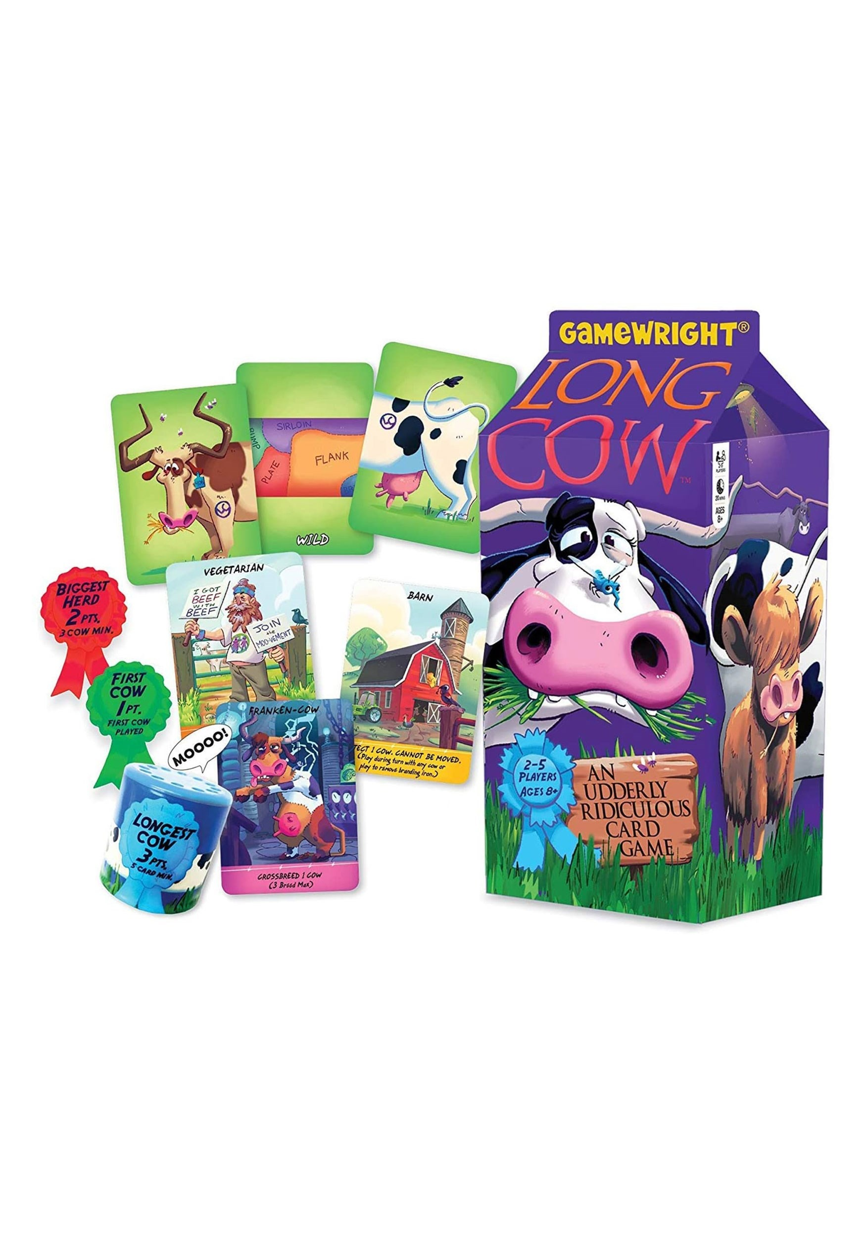 Long Cow: An Udderly Ridiculous Card Game